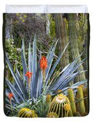 Agave And Cactus Duvet Cover