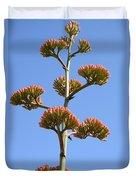 Agave Flowers II Duvet Cover