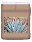 Agave Plant In The Chisos Mountains Duvet Cover