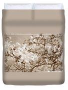 Antique Magnolia Bloom Duvet Cover
