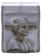 Aged Woman Duvet Cover