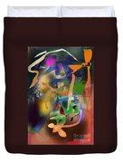 Self-renewal  9h Duvet Cover