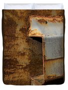 Aging With Rust Duvet Cover