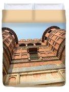 Agra Fort In India Duvet Cover