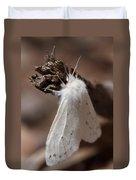 Agreeable Tiger Moth Duvet Cover