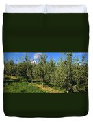 Agriculture - Bosc Pear Orchard Duvet Cover