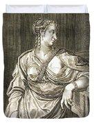 Agrippina Wife Of Tiberius Duvet Cover