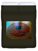 Ahwahnee Hotel Floor Medallion Duvet Cover
