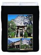 Ahwahnee Hotel In Yosemite National Park Duvet Cover