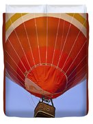 Air Balloon Festival In Igualada Duvet Cover