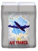 Air France Duvet Cover