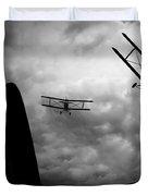 Air Pursuit Duvet Cover by Bob Orsillo