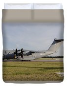 Airbus A400m For The French Air Force Duvet Cover