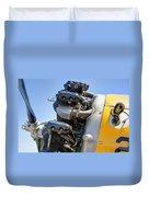Aircraft Engine 3 Duvet Cover