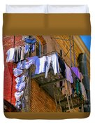 Airing Out The Drawers By Diana Sainz Duvet Cover