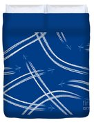 Airliners Gone Wild Duvet Cover