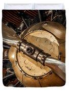 Airplane Motor Duvet Cover