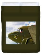 Airplane Named Southern Crosss Duvet Cover