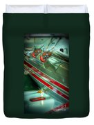 Airplane Vintage Yesterday Duvet Cover
