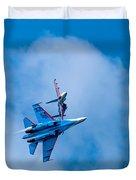 Airshow St Petersburg Russia Part 2 Duvet Cover