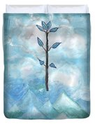 Airy Ace Of Wands Duvet Cover