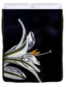 Ajo Lily Close Up Duvet Cover by Robert Bales
