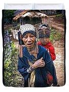 Akha Tribe II Duvet Cover
