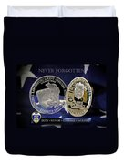 Akron Police Memorial Duvet Cover