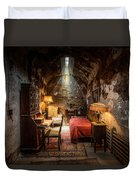 Al Capone's Cell - Historical Ruins At Eastern State Penitentiary - Gary Heller Duvet Cover