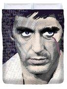 Al Pacino Again Duvet Cover