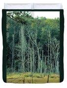Alabama Autumn Marsh Duvet Cover by Maria Urso