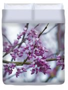 Alabama Redbuds Duvet Cover