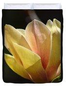 Alabama's Tulip Magnolia Duvet Cover