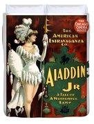 Aladdin Jr Amazon Duvet Cover