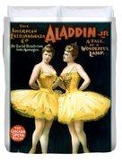 Aladdin Jr Ballerinas Duvet Cover