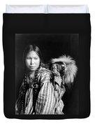 Alaska Eskimos, C1912 Duvet Cover