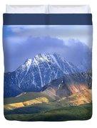 Alaska Range And Foothills Denali Duvet Cover