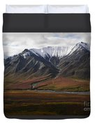 Alaska Range Duvet Cover