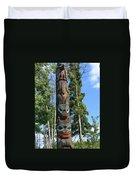 Alaska Totem Duvet Cover