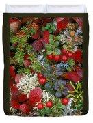 Alaskan Berries 2 Duvet Cover