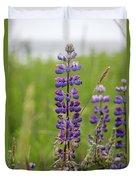 Alaskan Lupines Duvet Cover