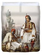 Albanians, 1865 Duvet Cover