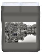 Albergottie Creek Trestle Duvet Cover