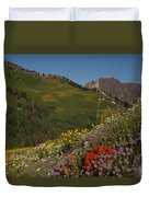 Albion Basin Summer Duvet Cover
