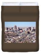 Albuquerque Skyline Duvet Cover