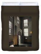 Alcatraz Doorway To Freedom Duvet Cover by Daniel Hagerman