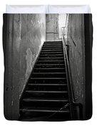 Alcatraz Hospital Stairs Duvet Cover