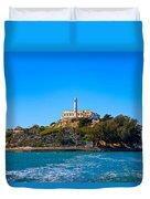 Alcatraz Island Duvet Cover