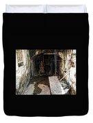 Alcatraz Island Morgue Duvet Cover