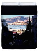 Alcatraz - So Close Yet So Far Duvet Cover